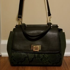 Brand new Olive green purse